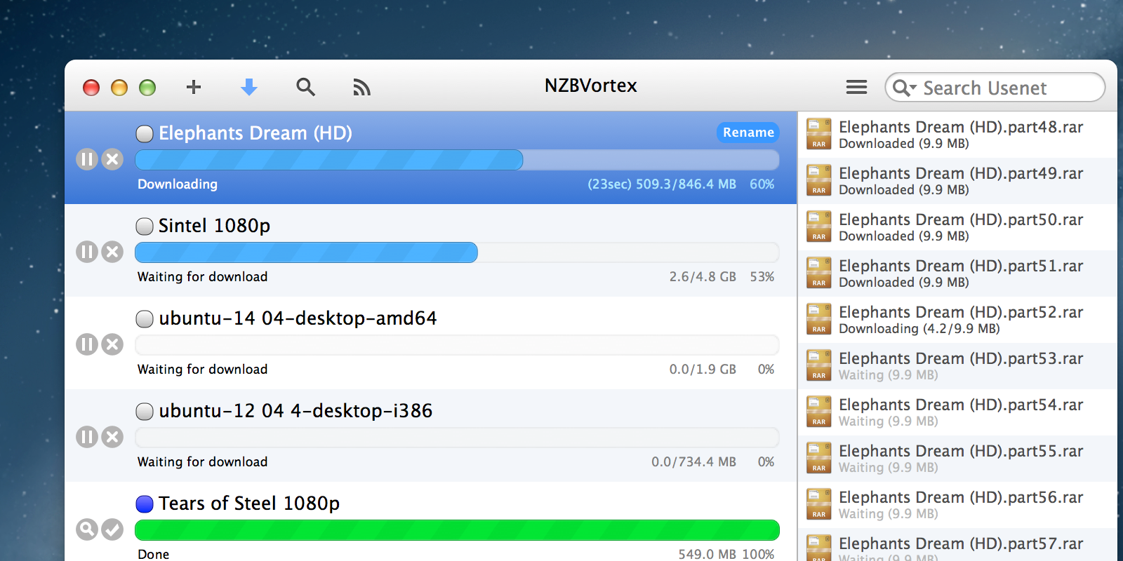 NZBVortex 3 - simply the best for Mac